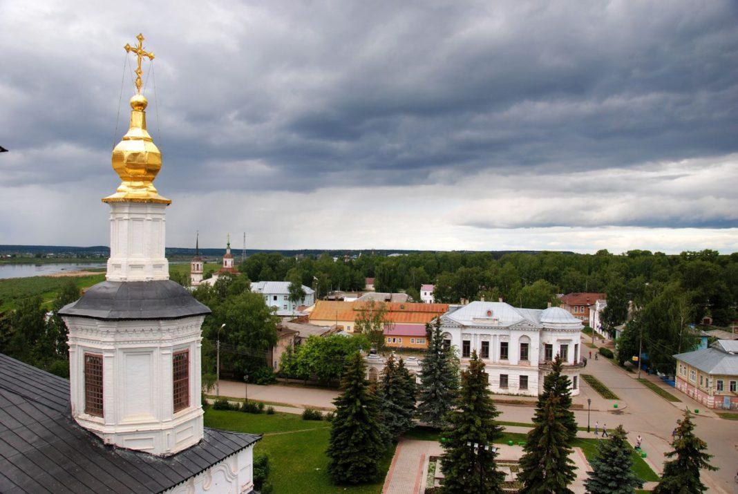 Великий Устюг -- город российских Колумбов
